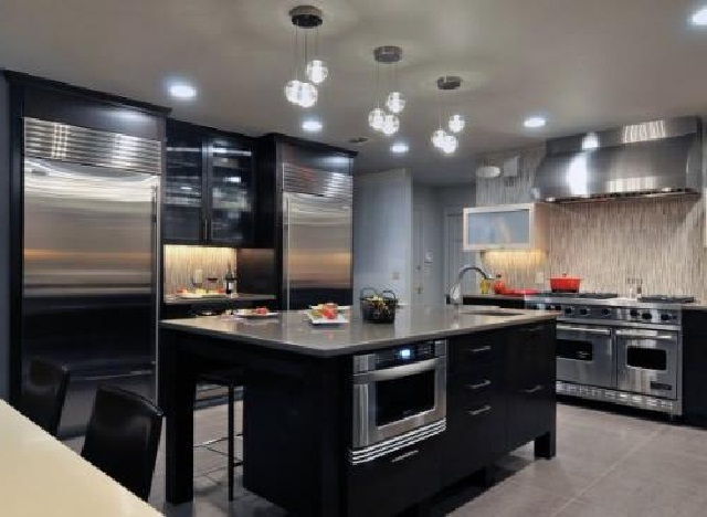 modern kitchen lighting ideas  ayanahouse,Modern Kitchen Lights,Kitchen ideas