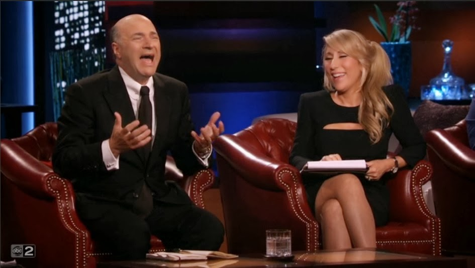 shark tank kevin o'leary and lori greiner