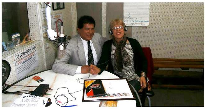 """En el Programa """"El Fogón de la Patria"""" (Radio Folclorisimo AM 1410)"""