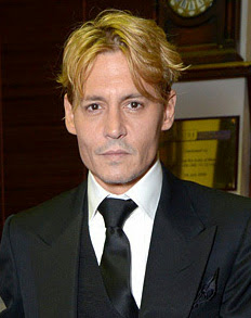 Johnny Depp blond