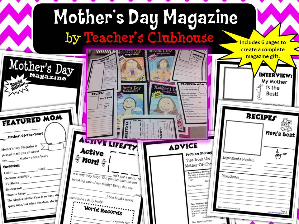 http://www.teacherspayteachers.com/Product/Mothers-Day-Magazine-658348