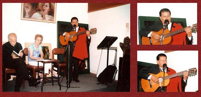 Dardo Noguera en la presentación del libro de la Lic. Graciela L. Fiscalini