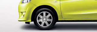 "14"" ALLOY WHEEL mitsubishi mirage 2014"