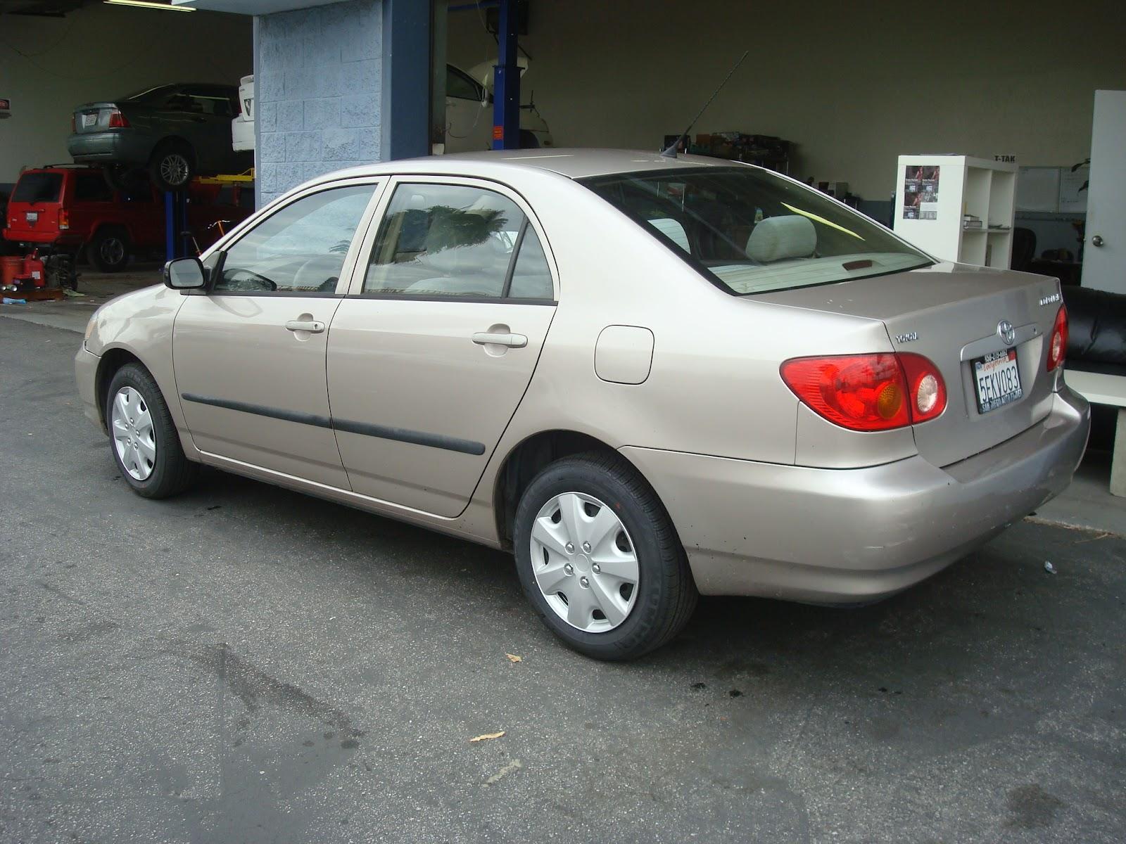 2003 Toyota Corolla Ce Gold
