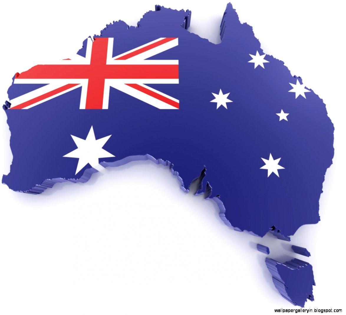 Australia Map Flag Wallpaper Hd Wallpaper Gallery - Australia map hd
