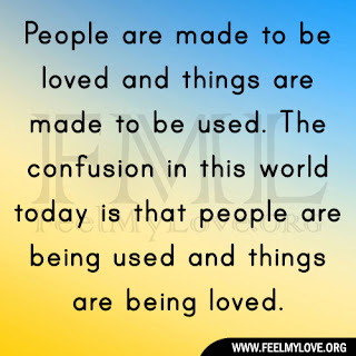 People are made to be loved