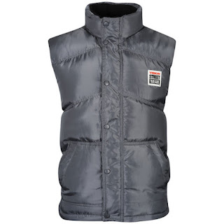 Vision Street Wear Men's Skate Gilet - Gun Metal