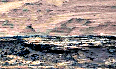 Ancient Pyramid Structures Found On Mars 2015, UFO Sightings