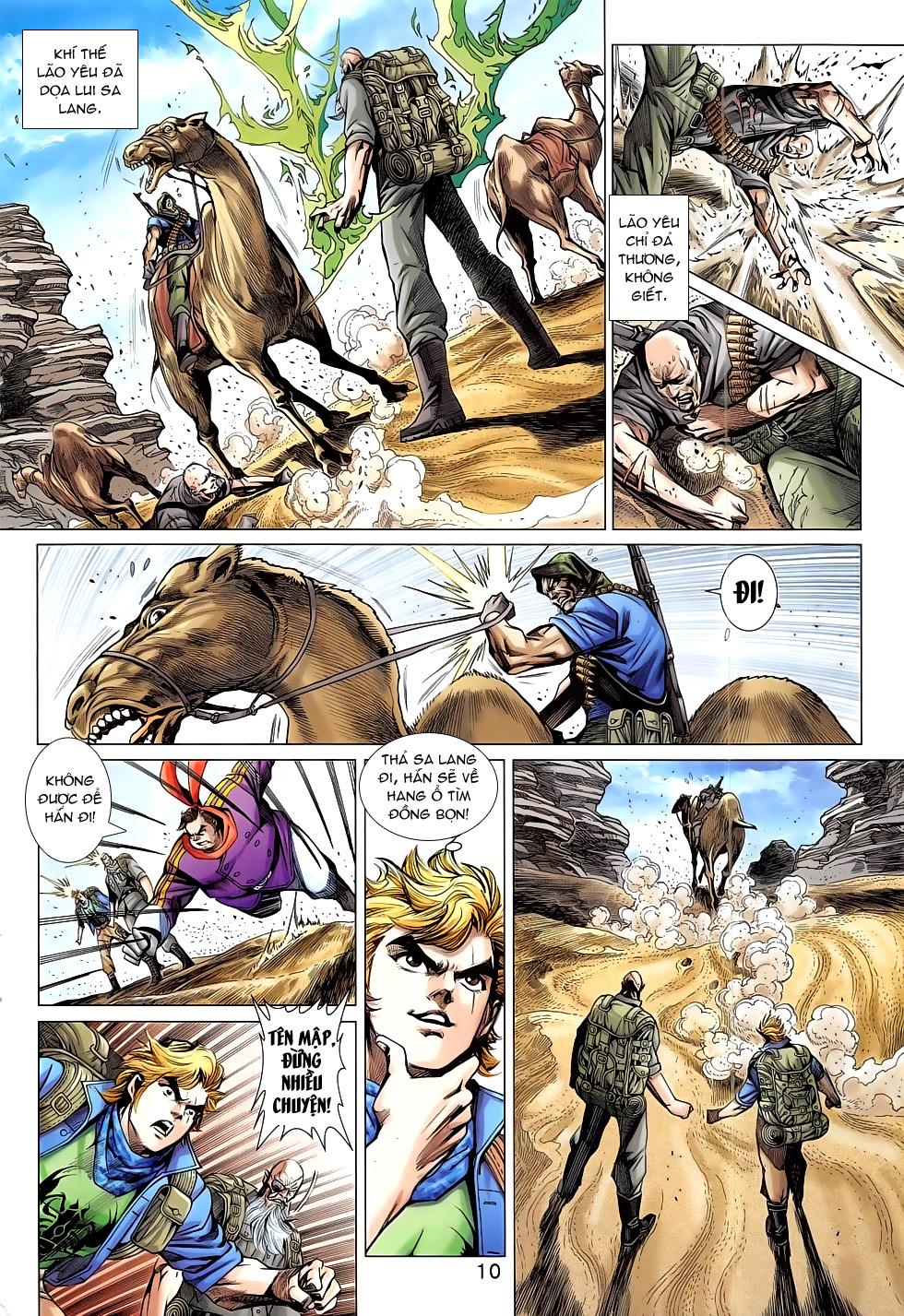 Tân Tác Long Hổ Môn chap 793 Trang 10 - Mangak.info