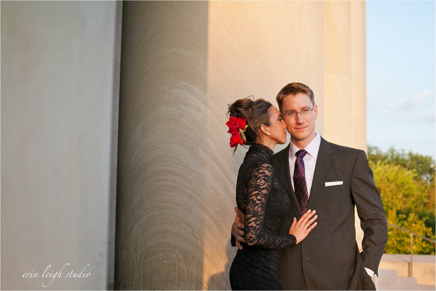 Engagement Photos Nelson Atkins Museum