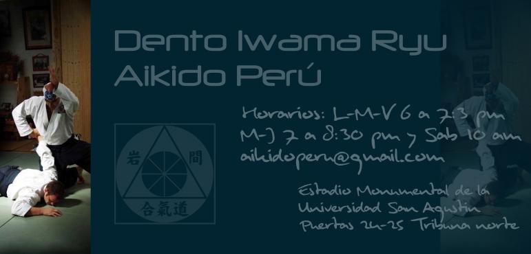 Aikido Tradicional DENTO IWAMA RYU Perú