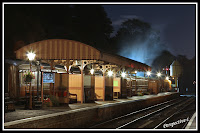 Severn Valley Railway Bewdley Platform At Night