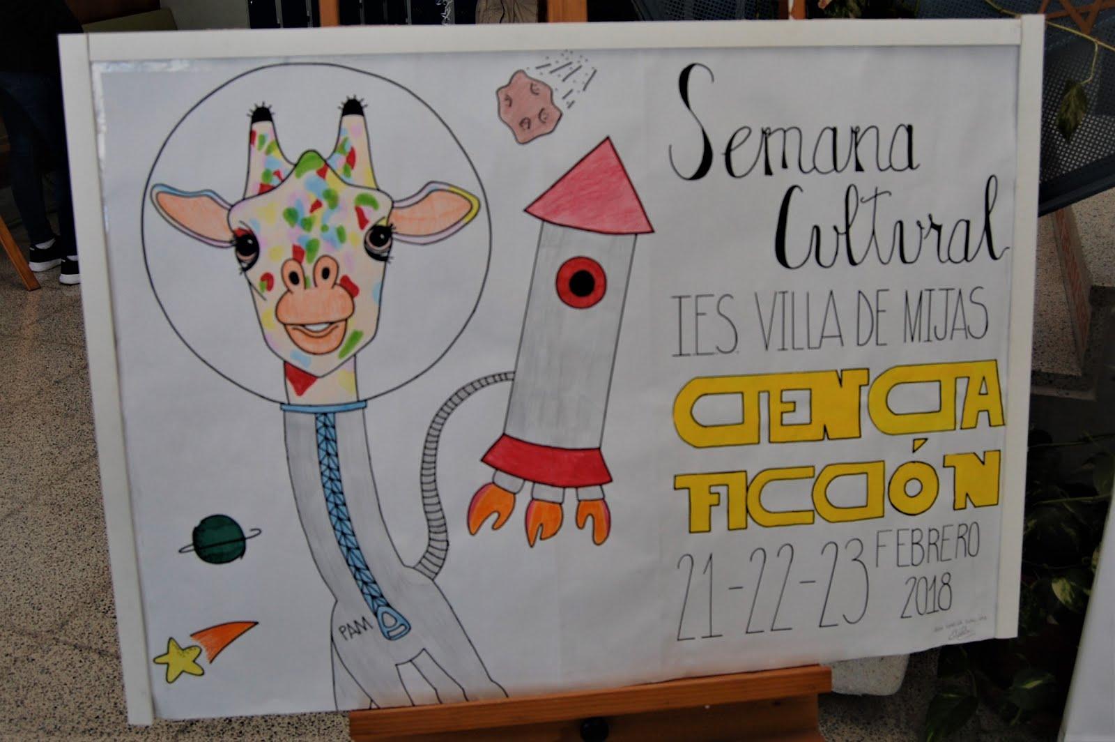 SEMANA CULTURAL 2018 CIENCIA FICCIÓN