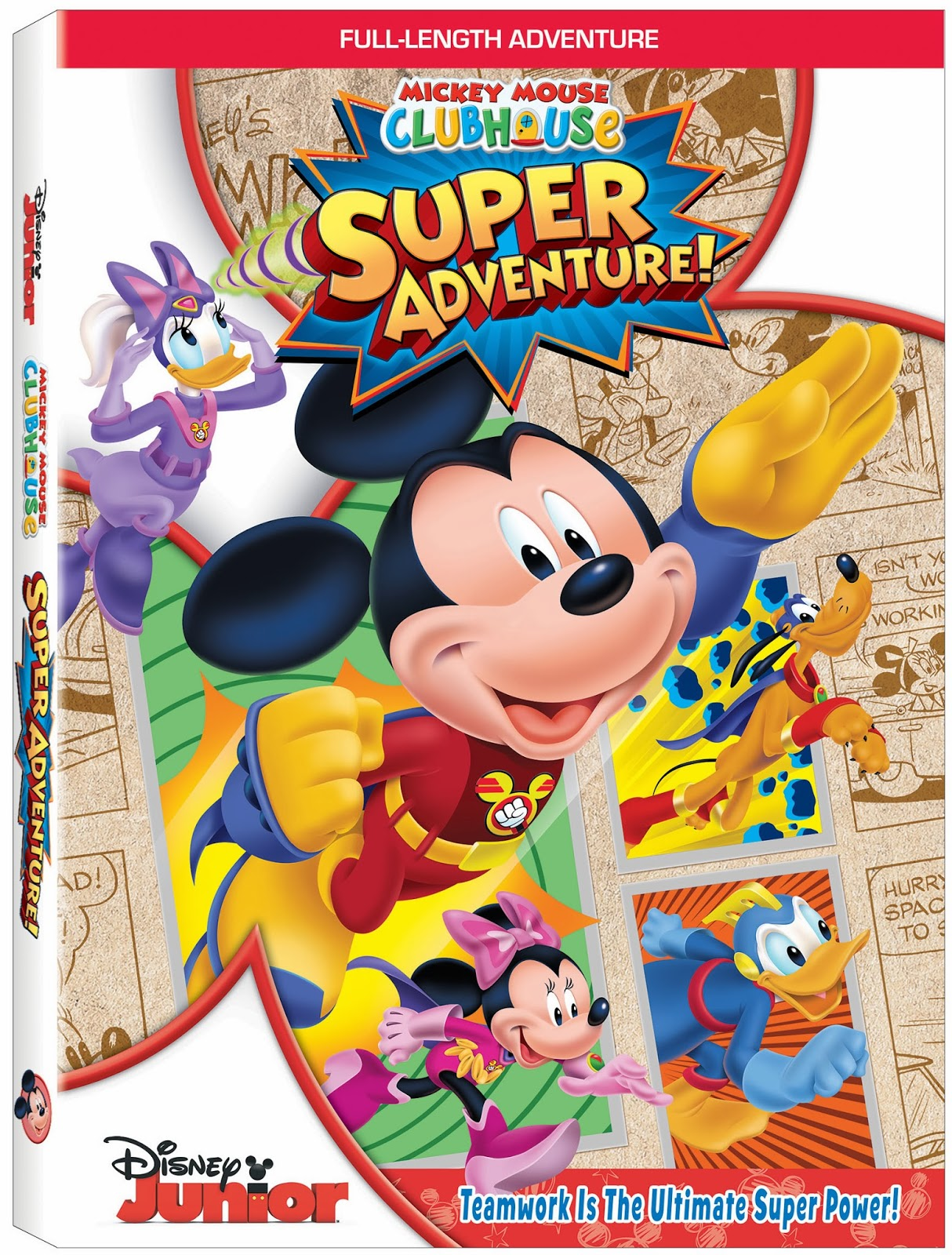 Mickey mouse clubhouse super adventure coming to dvd december 3 2013