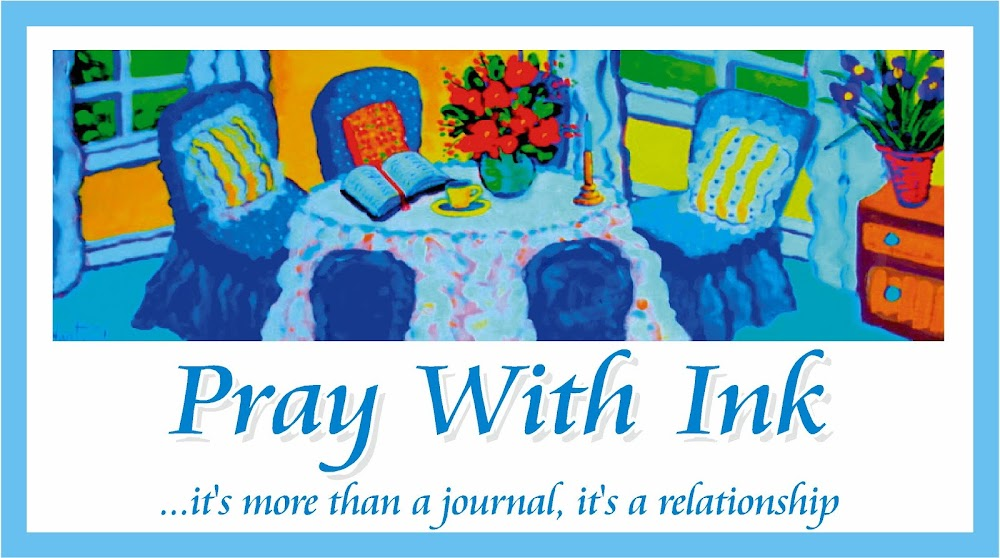 Pray With Ink - more than a journal, it's a relationship