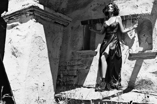 Черно-белые фотографии Синди Кроуфорд