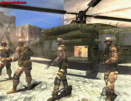 Download Game Full Spectrum Warrior PC Windows Gratis