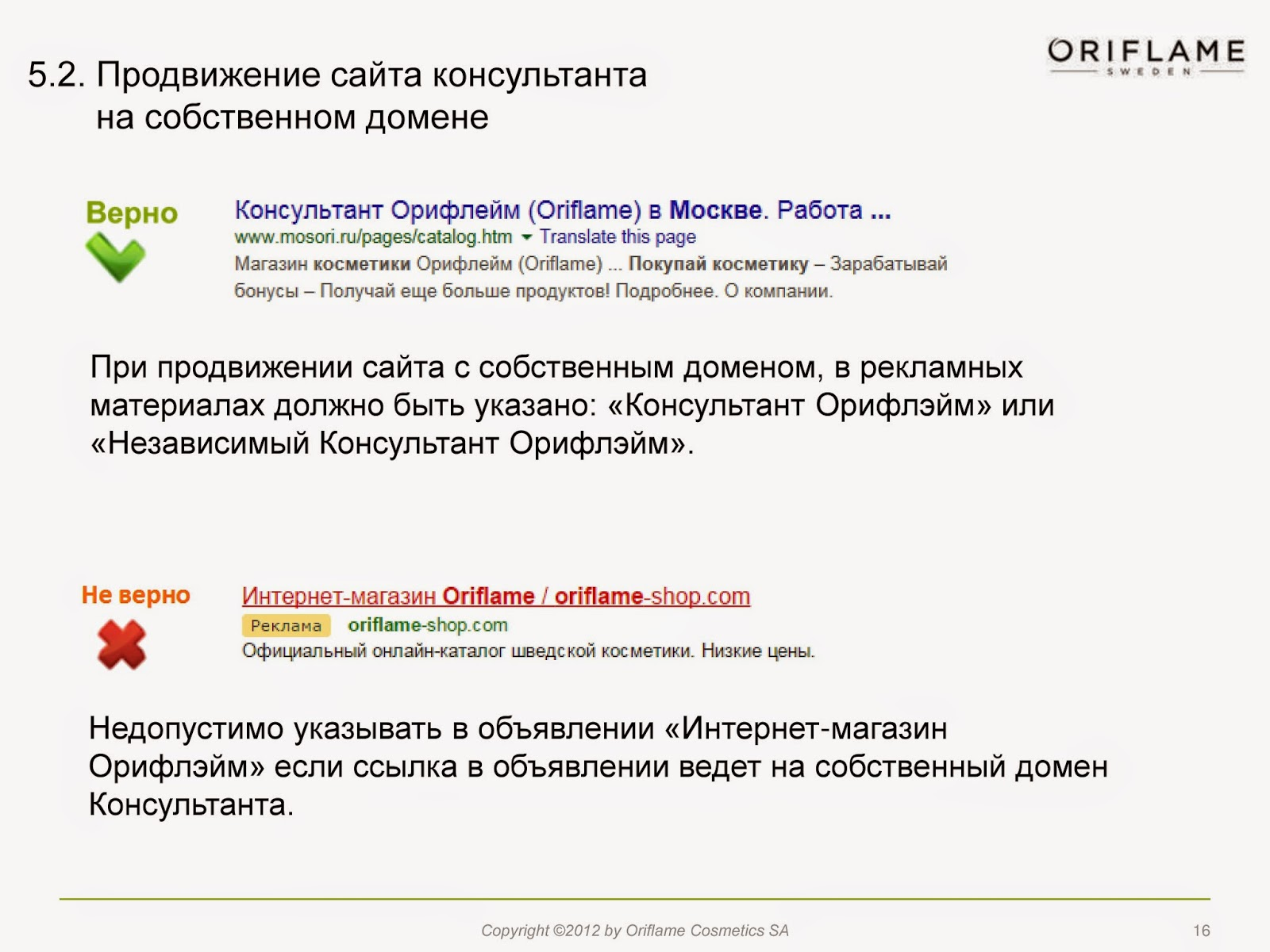 Продвижение сайта Консультанта в сети Интернет