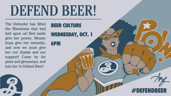 defend beer, beer culture, brooklyn brewery,