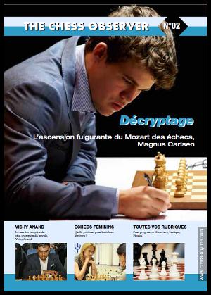 The Chess Observer, la nouvelle revue sur les échecs parution n°2