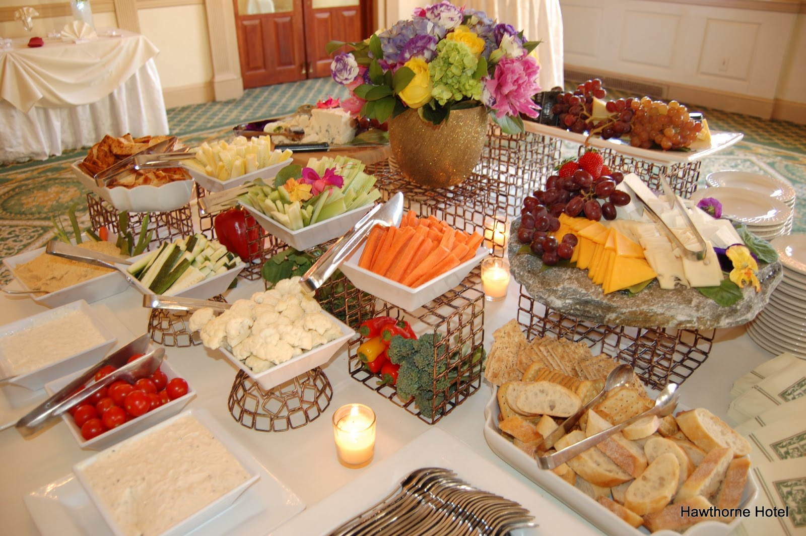 weddings at the hawthorne hotel  scenes from the wedding tasting