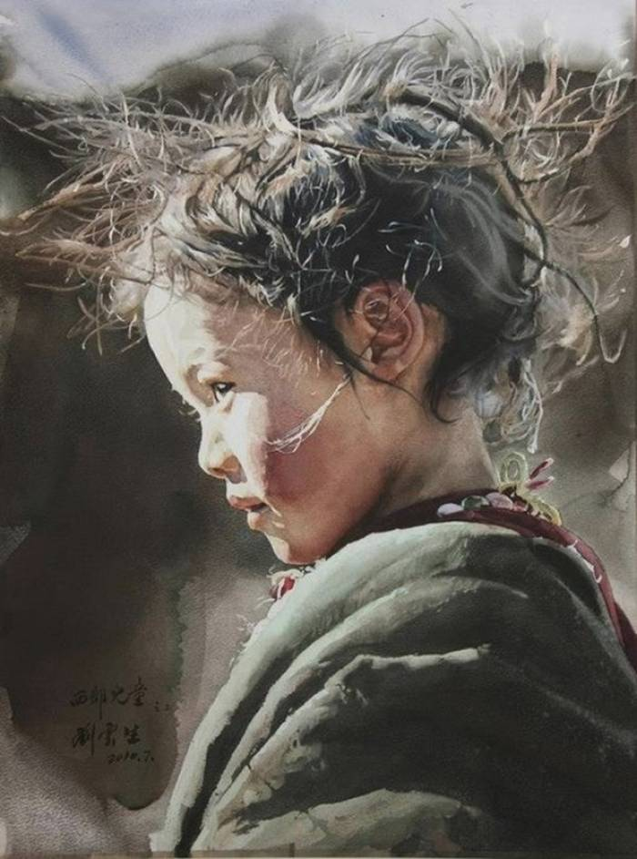 Liu Yun Sheng «Child of the West»""