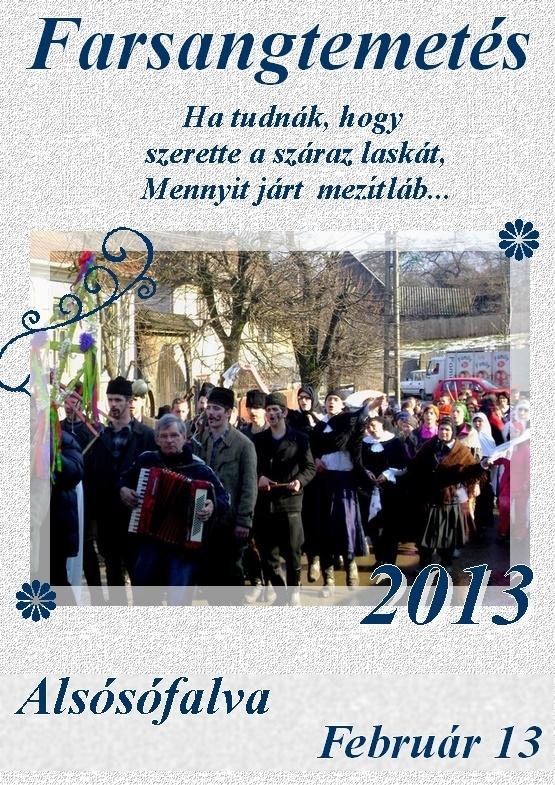 Farsangtemetés - 2013