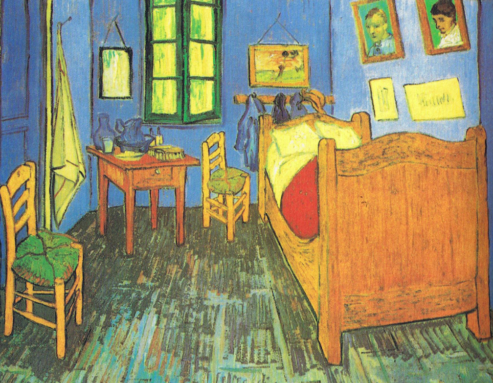 Bedroom At Arles Art Lesson