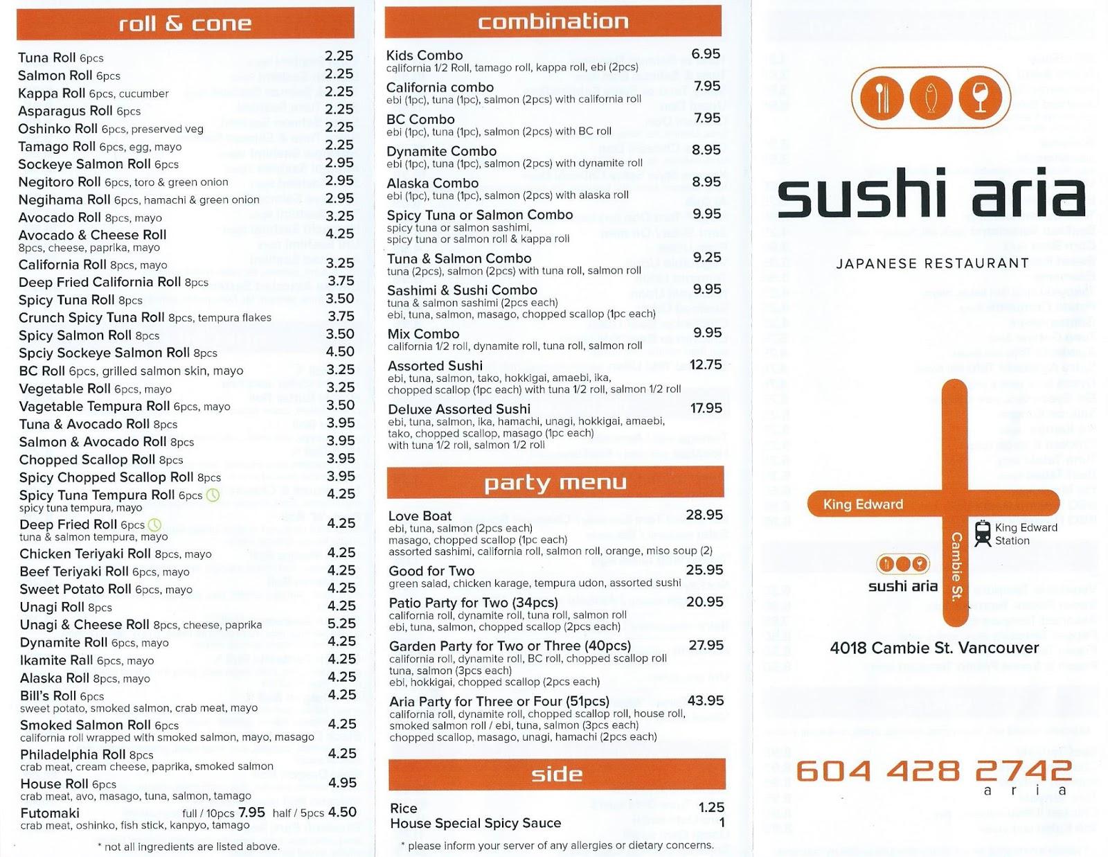 Raymond\'s Sushi Adventures: Episode #132: Sushi Aria