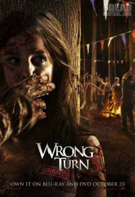 Wrong Turn 5 Bluray Movie
