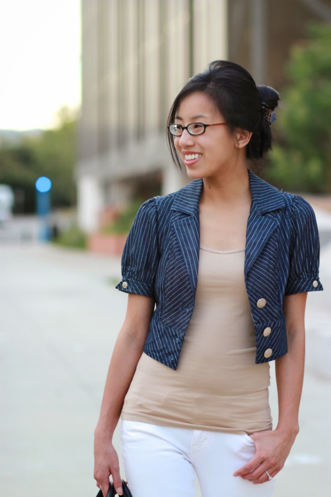 cropped summer jacket outfit trend