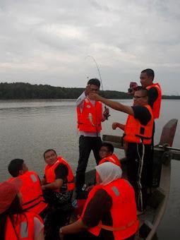 Fishing at Kuala Sangga off Kuala Sepetang