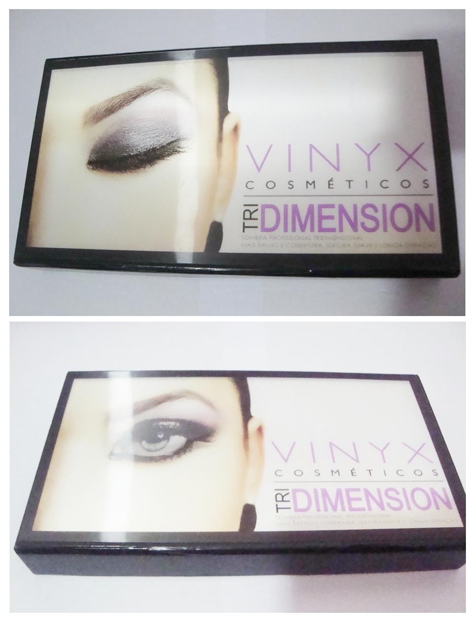 Paleta de sombras 3D Vinyx