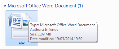 Perbedaan dokumen office 2003 dan office 2007