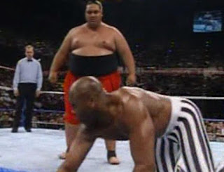WWF (WWE) SURVIVOR SERIES 1992 - YOKOZUNA BATTLES VIRGIL