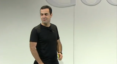 Hugo Barra at New Nexus 7 launch photo