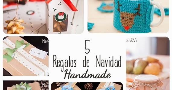Mar vi blog regalos de navidad 5 ideas handmade - Detalles navidenos caseros ...