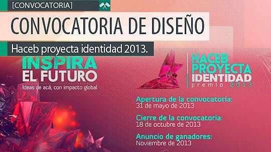 Concurso de Diseño. Haceb Proyecta Identidad 2013.