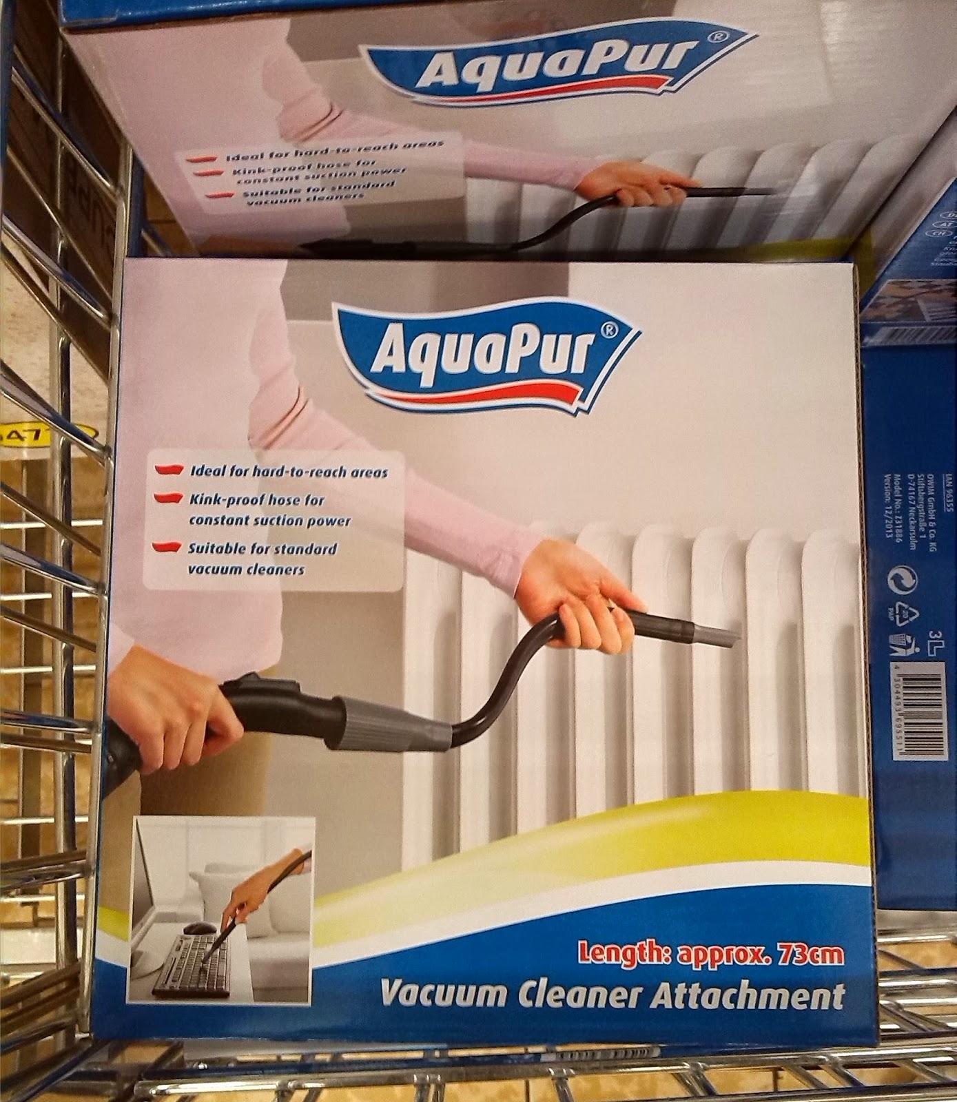 Aquapur Vacuum attachment