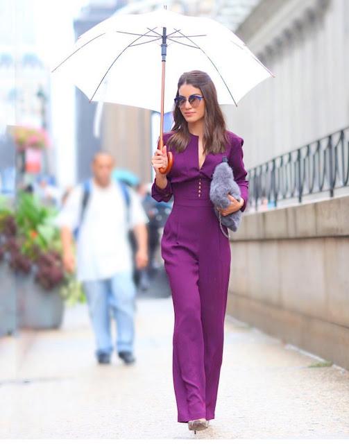 Camila coelho nyfw15 day 1 outfit