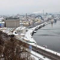 Киев в феврале - фото и видео