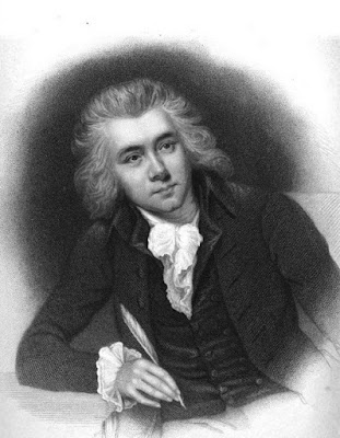 William Wilberforce aged 20 from The Life of William Wilberforce by RI & S Wilberforce (1839)