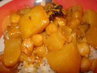 CHiCKPEA POTATO DRY CURRY