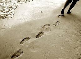 Seguiré tus huellas y caminaré tus pasos.