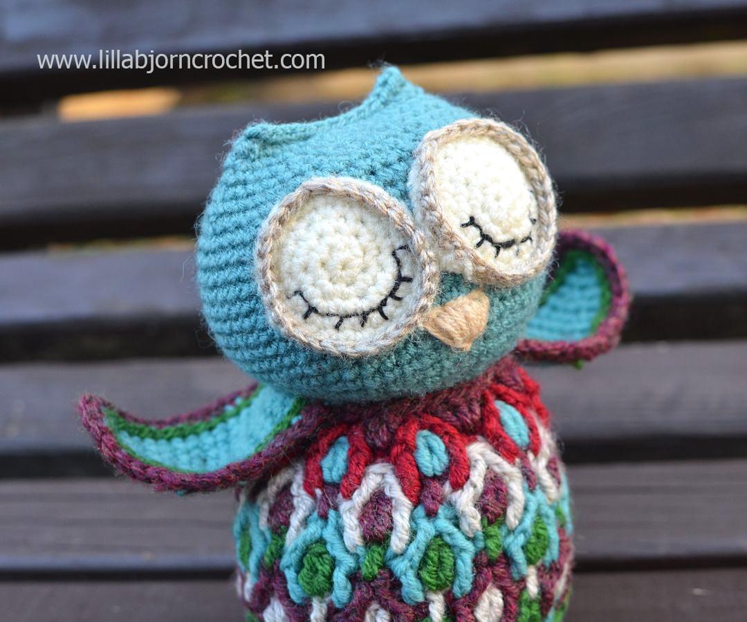 Cute Little Amigurumi Owl : Dancing owl crochet pattern lillabjörn s crochet world