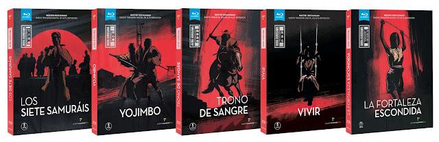 A la venta en Blu-ray y DVD 'La fortaleza escondida' de Akira Kurosawa