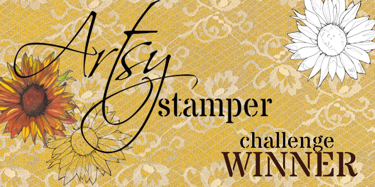 Winner at the Artsy Stamper