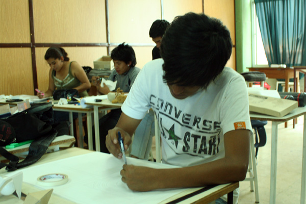 Expresi n facultad de arquitectura y dise o de interiores for Cursos facultad de arquitectura