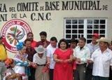 Inaugura CNC oficina en Ciudad de Calkiní. 13feb2011.