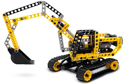 REPUBbLICk  LEGO set database  8419 excavator